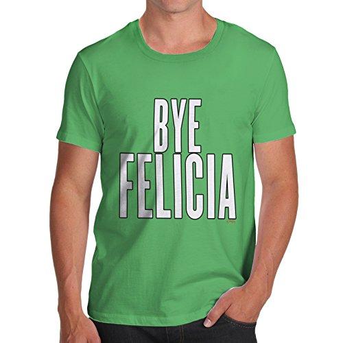 Herren Bye Felicia T-Shirt Grün