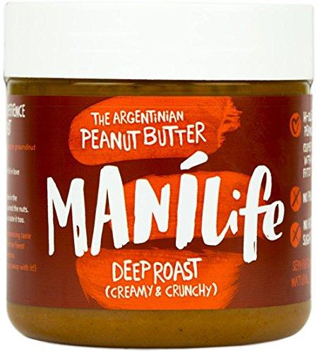 Manilife Deep Roast Crunchy Peanut Butter 295g