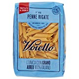 Voiello Pasta Penne Rigate Semola di Grano Aureo 100% Italiano - 500 gr