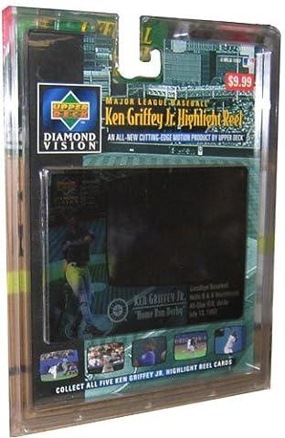 1997 Upper Deck Baseball Ken Griffey Highlight Reel 'Home Run Derby' Motion Card by Upper Deck
