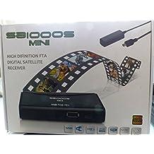 SpiderBox Mini 1000S Sat Receivers FULL HD FREESAT BOX