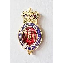 Hogar división del ejército británico Blues y Royals insignia–MOD aprobado