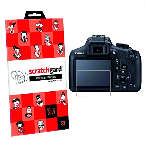 Original Scratchgard Ultra Clear Screen Protector for Canon EOS 1300D