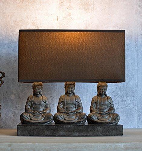 ASIA TISCHLAMPE BUDDHA FIGUREN YOGA FENG SHUI PALAZZO EXCLUSIVE