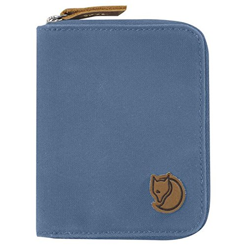 Fjällräven Zip Wallet, Blue Ridge, 12 x 10 x 1 cm (Zip-geldbörse)