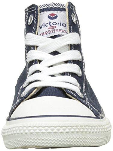 victoria Unisex-Kinder Botin Basket Autoclave Hohe Schuhe Blau (Marino)