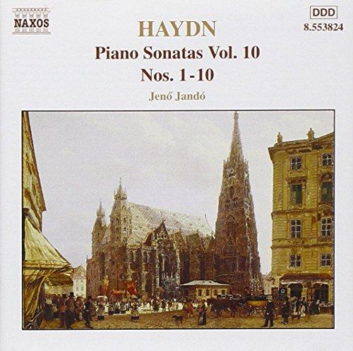 Sonates pour piano, vol.10