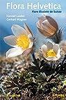 Flora Helvetica: Flore illustree de Suisse. Clef de determination par Lauber