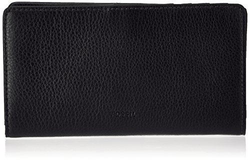 e Geldbörse, Schwarz (Black), 2.5x10x17 cm ()