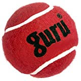 Guru Heavy Weight Cricket Tennis Ball (Pack of 6, Color - Maroon)