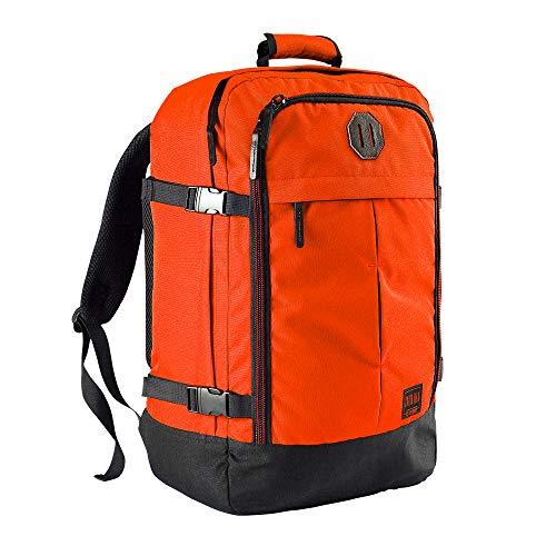 Cabin Max Handgepäck Rucksack 44 Liter - Leichtgewicht Reiserucksack für das Flugzeug Bordgepäck 55x40x20 cm - Robuster & praktischer Backpack - Hochwertiger Kabinenkoffer (Vintage Orange) - Vintage Cabin