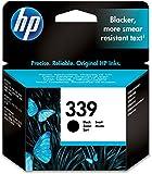HP 339 Schwarz Original Druckerpatrone für HP Deskjet, HP Officejet, HP Photosmart