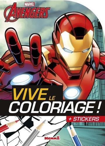 Marvel - Avengers - Vive le coloriage ! (Iron Man), Livres