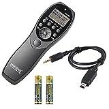 Neewer pantalla LCD temporizador y mando a distancia de disparo del obturador yp-880/DC2 para Nikon D7100 D7000 D5300 D5100 D5000 D3300 D3200 D3100 D610 D600 D90 DF cámaras réflex digitales