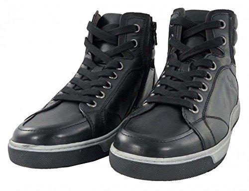 NeroGiardini - Sneakers a collo alto - NeroGiardini Uomo - A604370U/100 - 40, Nero-Asfalto