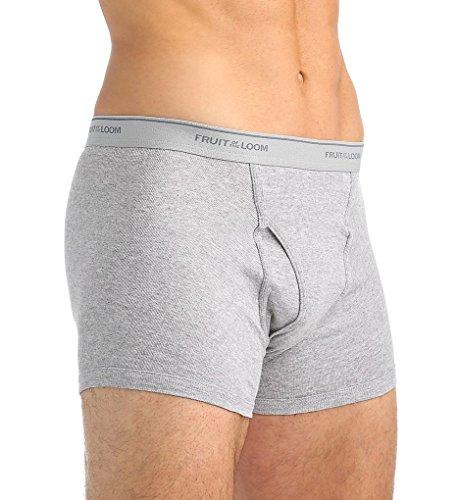 Fruit of the Loom Men's Short Leg Boxer Brief (Pack Of 5)