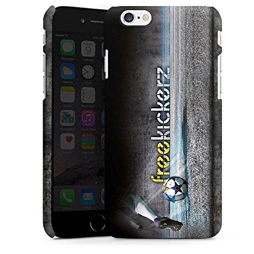 Apple iPhone X Silikon Hülle Case Schutzhülle Freekickerz Fanartikel Merchandise Fußball Premium Case matt