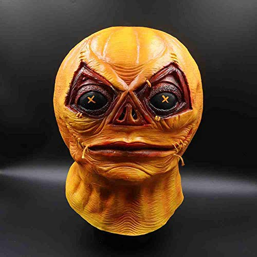Adult Kostüm Beängstigend Spinne - WTNL Orange Style Maske Melting Face Adult Latex Kostüm Halloween Scary Party Maske Halloween Latex Maske Maskerade Maske