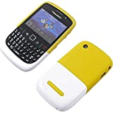 BlackBerry Premium Coque pour BlackBerry Curve 8520/9300 - Jaune/Blanc