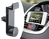 MMOBIEL Universal Smartphone Car Mount Holder 360 Degrees Adjustable Black
