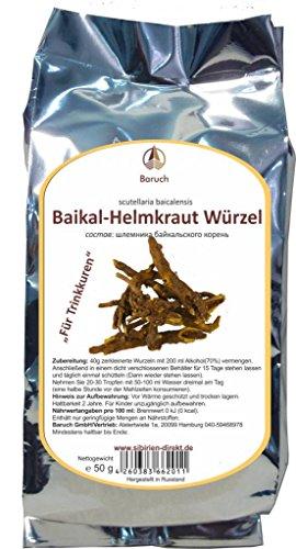 Beikal-Helmkraut Wurzel - (Scutellaria baicalensis) - 50g - Wurzel-tinktur