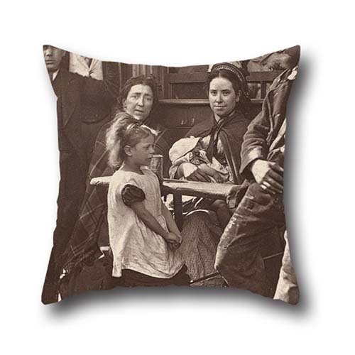 oil-painting-john-thomson-hooky-alf-of-whitechapel-cushion-cases-16-x-16-inches-40-by-40-cm-for-mont