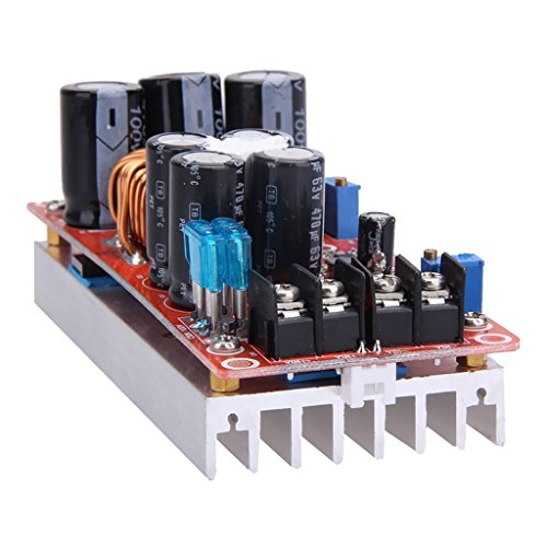 Street27 1200W DC Boost Converter Constant-Current Power Supply Step up 12V 24V 48V 20A in 8-60V Out 12-83V