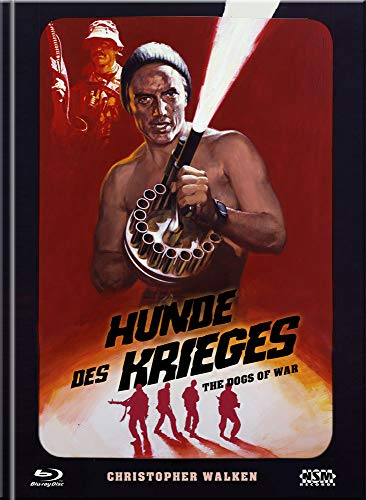 Hunde des Krieges - The Dogs of War [Blu-Ray+DVD] - uncut - limitiertes Mediabook Cover F