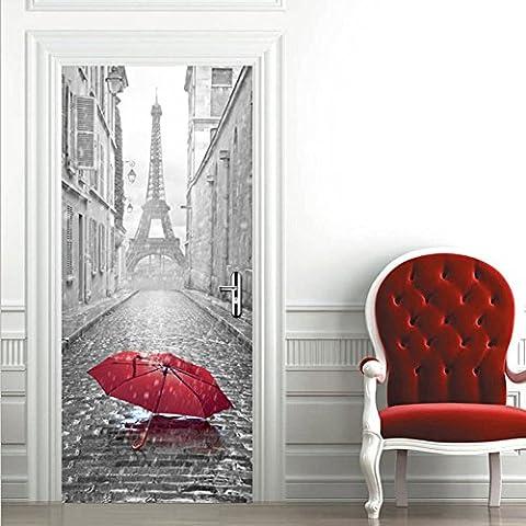 Stickers Etagere - Extsud Sticker de Porte Parapluie Eiffel Sticker