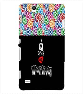PrintDhaba Quote D-3191 Back Case Cover for SONY XPERIA C4 (Multi-Coloured)