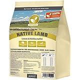 Hundeland Natural | Native Lamb | 15 kg | Lamm + Süßkartoffel | getreidefreies Hundefutter | Trockenfutter für alle Hunderassen | viel frisches Fleisch | artgerecht & besonders gut verträglich