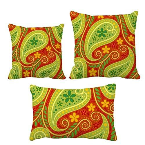 DIYthinker Drucken Repeat Cloth Colorful Leaf Art Throw Kissen Set Einfügen Kissen Cover Home Sofa Dekor Geschenk