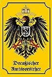 Preußischer Amtsvorsteher Historisches Wappen schild aus blech, Deutsches reich, Adler, , preussen