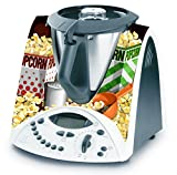 Decusto - Adhesivo En Vinilo Para Decorar Tu Thermomix Tm31 Modelo -Popcorn