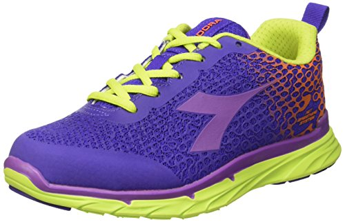 Diadora Damen Nj-303-2w Trainingsschuhe Multicolore (c6051 Vla Ultravioletto/viola Chicc)