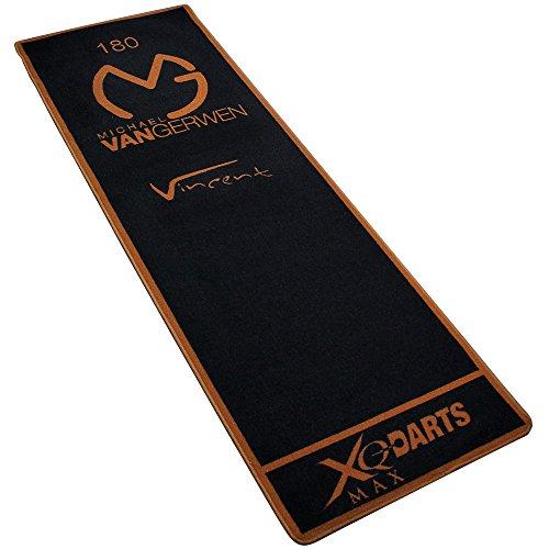 #XQMAX Turnier-Matte 237x80cm – Dartmatte – Dartteppich – Tuniermatte – Michael van Gerwen#