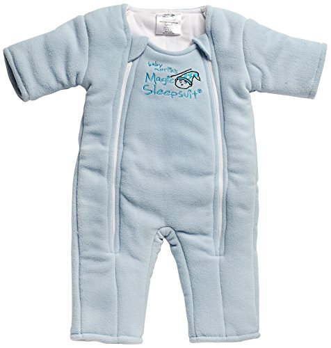 Baby Merlin's Magic Sleepsuit Baby Jungen (0-24 Monate) Schlafstrampler Blau Blue Small 3-6 months (12-18 lbs.)