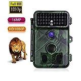 HUAXING Trail Fotocamera 16MP 1080P Wildlife Hunting Camera con Movimento attivato Visione Notturna 20m, 0.2 s velocità di Trigger, 2.4'Schermo LCD e 130 ° grandangolare