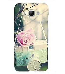 Cute camera Back Case Cover for Samsung Galaxy J7::Samsung Galaxy J7 J700F