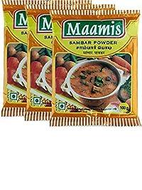 Maamis Sambar Powder 100g (Pack of 3)
