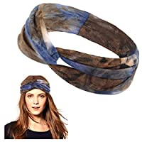 Lamdgbway Women Headbands Boho Style Hair Accessories - - One Size