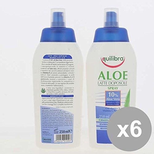 Set 6 EQUILIBRA Doposole Aloe Spray 250Ml Creme solari e doposole e doposole