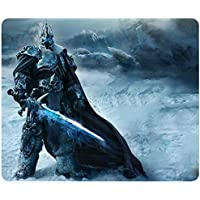 World Of Warcraft Wrath Of The Lich King Game Mouse Pad, Customized Rectangle Mousepad by (World Of Warcraft Mouse Pad)