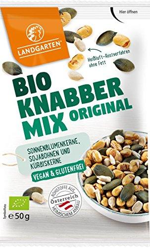 Landgarten Bio Bio Knabber MIX Original (6 x 50 gr) (Sonnenblumenkerne Original)