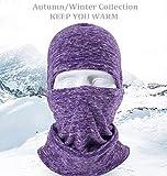 Pioneeryao Invierno pasamontañas máscara Super Motocicleta Caliente máscara de esquí Cationic Tejido Forro Polar pasamontañas Invierno máscara