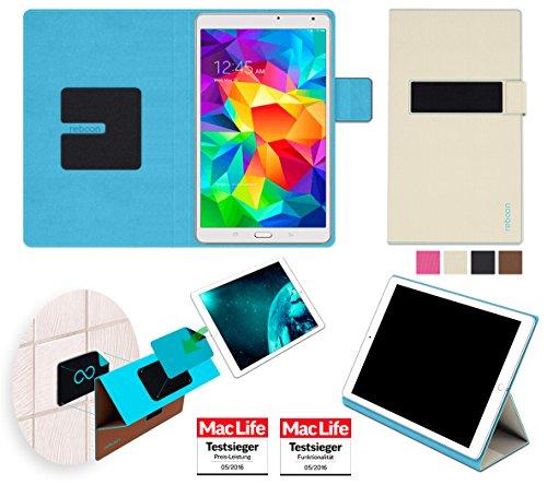 amsung Galaxy Tab S 8.4 Tasche Cover Case Bumper   in Beige   Testsieger ()