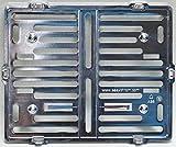 Motorrad Kennzeichenhalter Easy Chrom frameless 180x200mm chrom