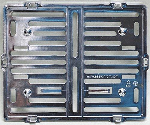 Preisvergleich Produktbild Motorrad Kennzeichenhalter Easy Chrom frameless 180x200mm chrom