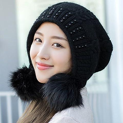 Dngy*Cappelli invernali bambini marea delizioso dolce autunno inverno maglione Knit