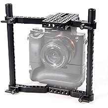 SmallRig Regulable en Altura VersaFrame Jaula de la Cámara de Vídeo para Canon, Nikon, Sony, Panasonic GH3 GH4